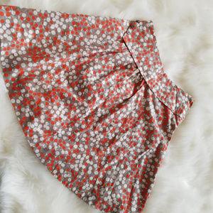 Anthro Girls from Savoy Apple Print Skirt